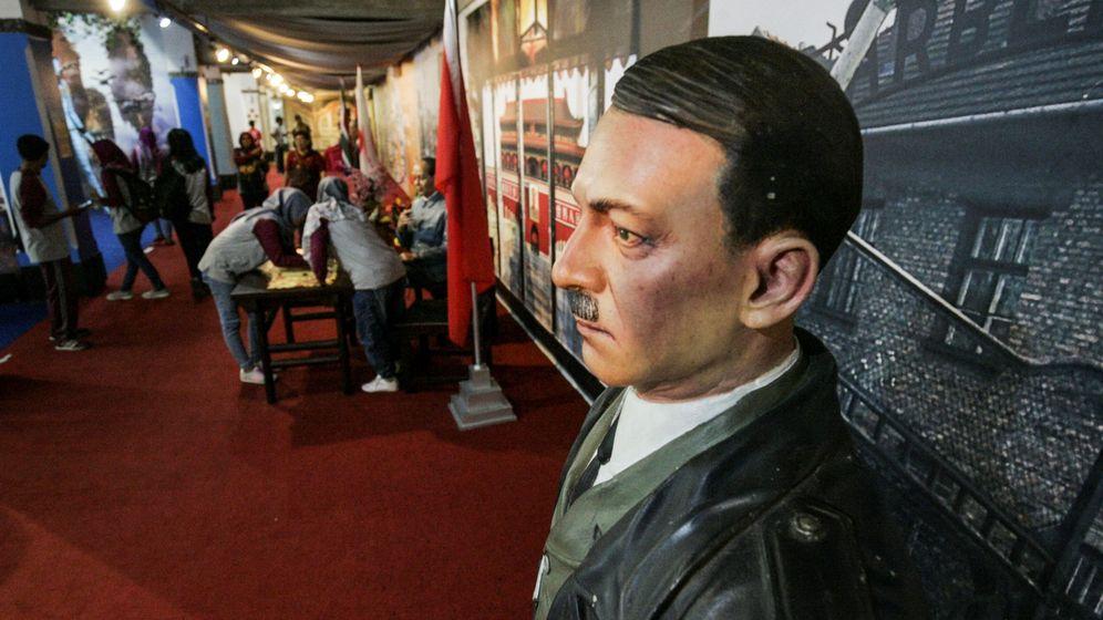 Foto: Figura de Hitler en el Museo de Yogyakarta (Indonesia) (EFE)
