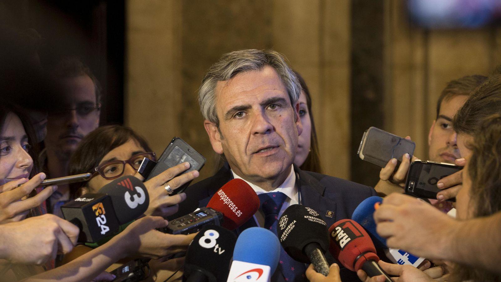 Foto: Daniel de Alfonso comparece en el Parlament por el caso de las grabaciones de Fernández Díaz (EFE)