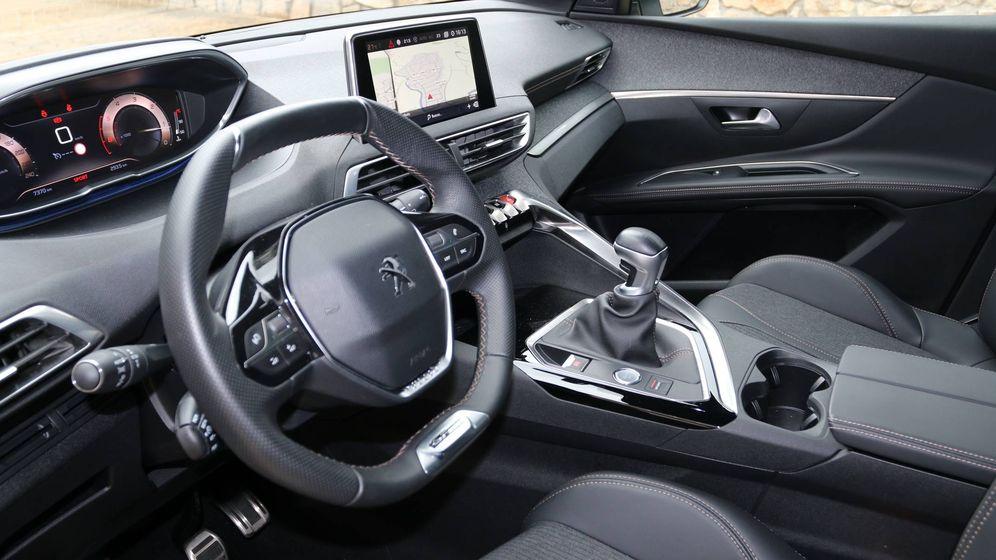 Foto: El 5008 completa la gama todocamino de Peugeot
