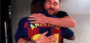 Post de La disputa del hermano de Messi por Ansu Fati que le supone un suculento negocio