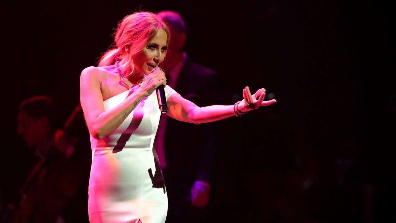 Marta Sánchez, durante un concierto. (EFE)