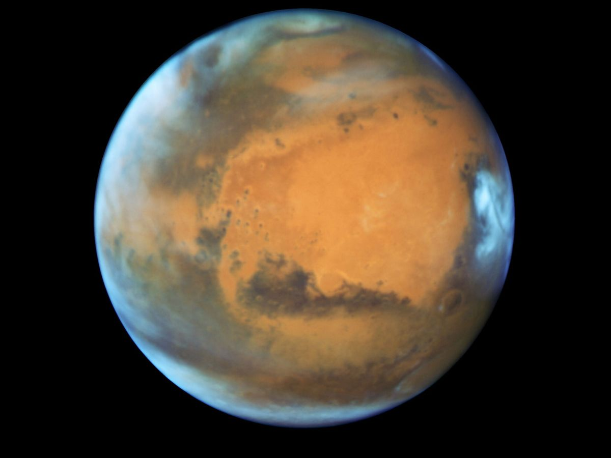 Foto: Fotografía de archivo del planeta Marte. (Reuters)