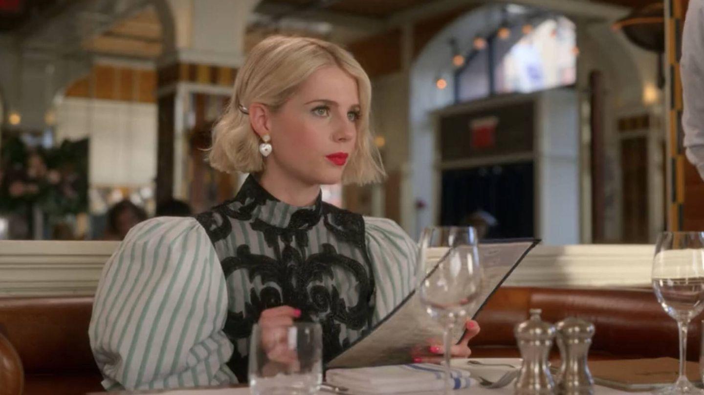 Lucy Boynton, en 'The Politician'. (Netflix)
