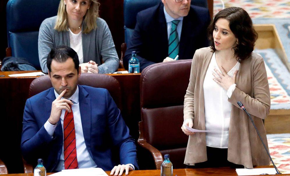 Foto: Las relaciones entre Ayuso y Aguado, en horas críticas tras la llegada de Miguel Ángel Rodríguez. (EFE)