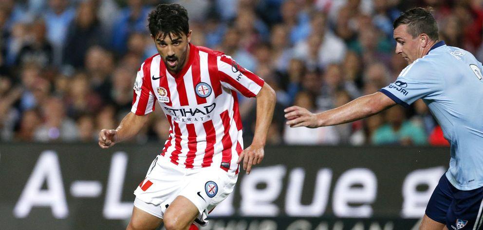 Villa deja Australia antes de lo esperado, pero en Melbourne esperan que vuelva