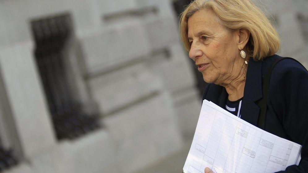 Foto: La candidata de Ahora Madrid a la Alcaldía de la capital, Manuela Carmena. (Efe)