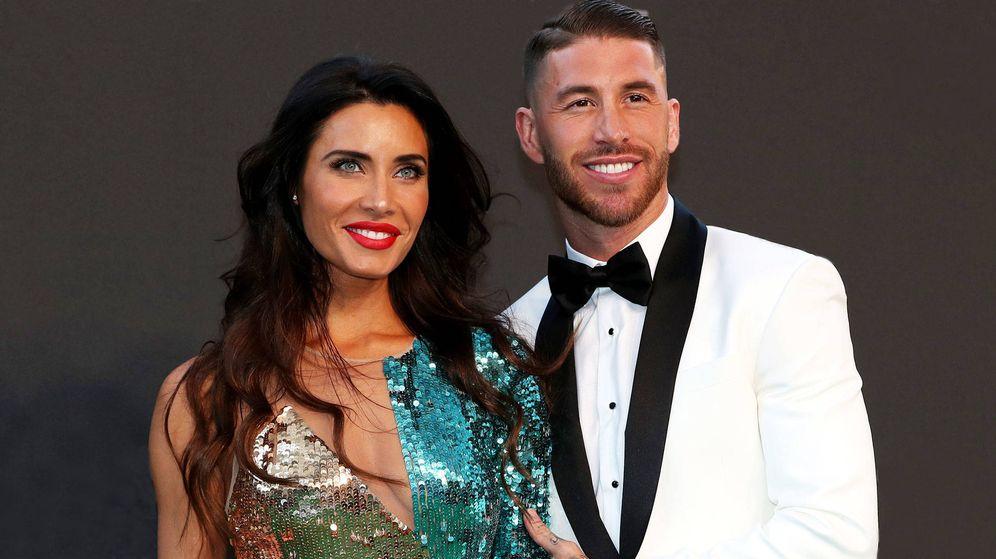 Foto: Pilar Rubio y Sergio Ramos, en una entrega de premios. (Getty)