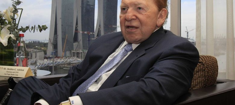 Foto: El magnate estadounidense de los casinos, Sheldon Adelson