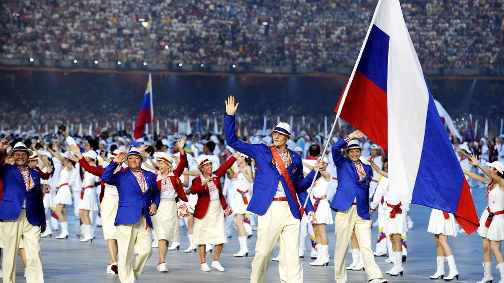 Foto: La delegación rusa, en los Juegos Olímpicos de 2012 (Reuters)