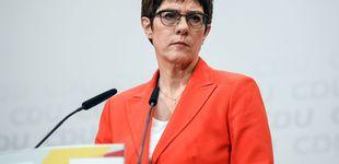 Post de AKK, la 'delfín' de Angela Merkel, renuncia a suceder a la canciller de Alemania