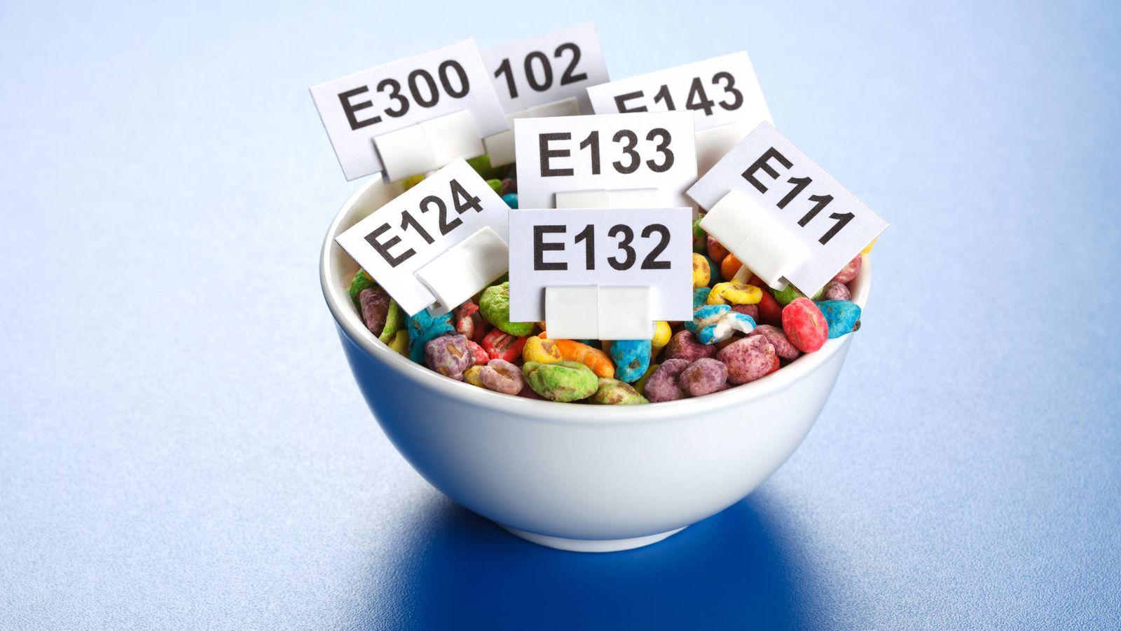 Foto: Vistos de este modo, los aditivos parecen mucho más inofensivos. (iStock)
