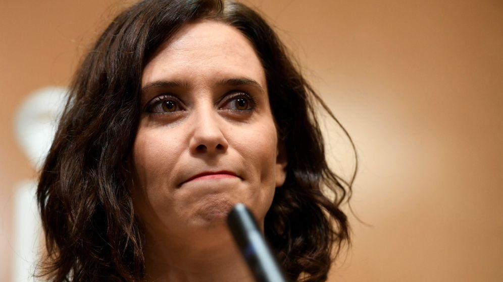 Foto: La candidata del PP a la Comunidad de Madrid, Isabel Díaz Ayuso, (EFE)