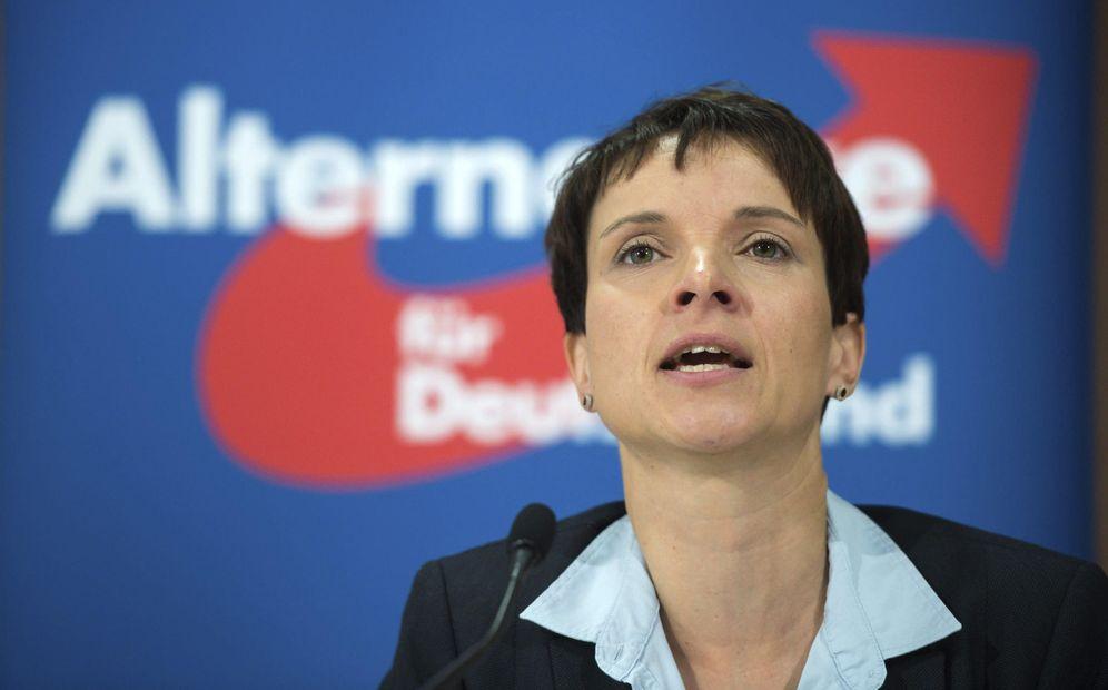 Foto: El que fuera hasta este lunnes el rostro más conocido del partido AfD, Frauke Petry. (EFE)