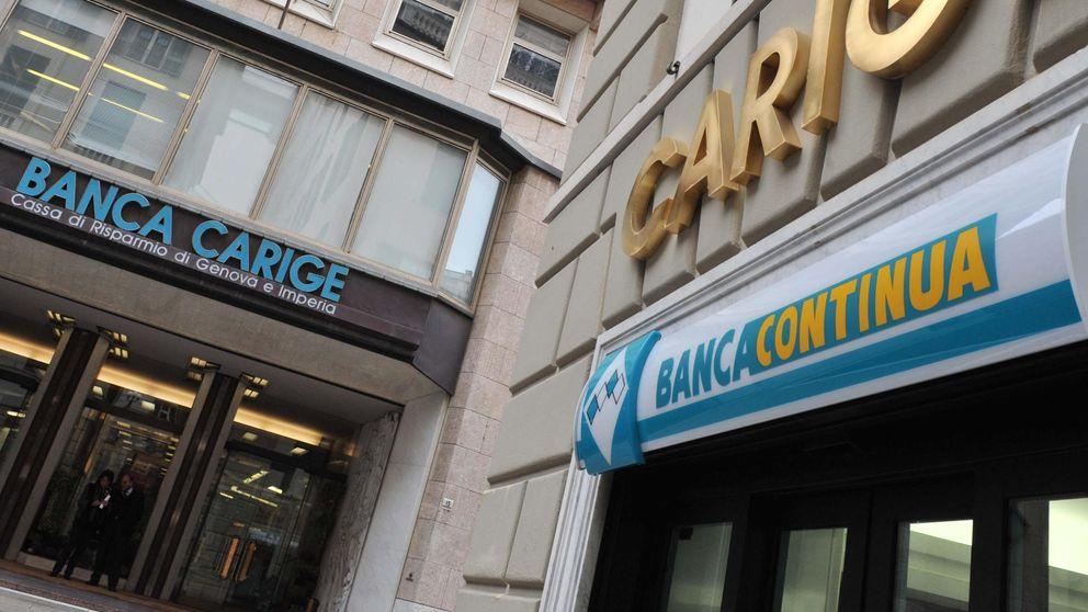Santander explora a Carige en la primera compra 'made in BCE'