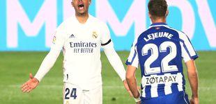 Post de El Alavés saca los colores a un Real Madrid ramplón que pierde a Hazard por lesión (1-2)