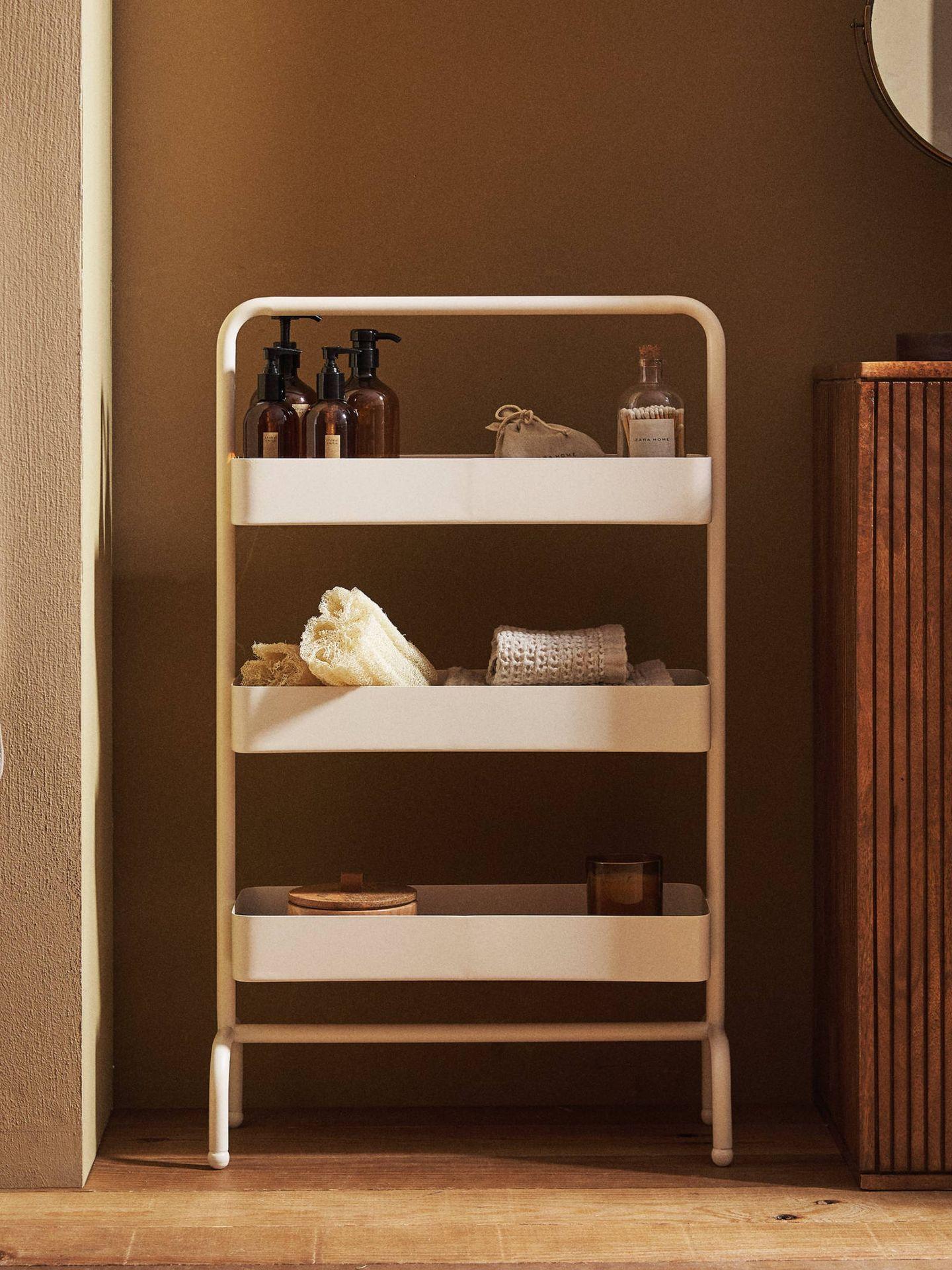 Soluciones de Zara Home para un baño pequeño y con estilo. (Cortesía)
