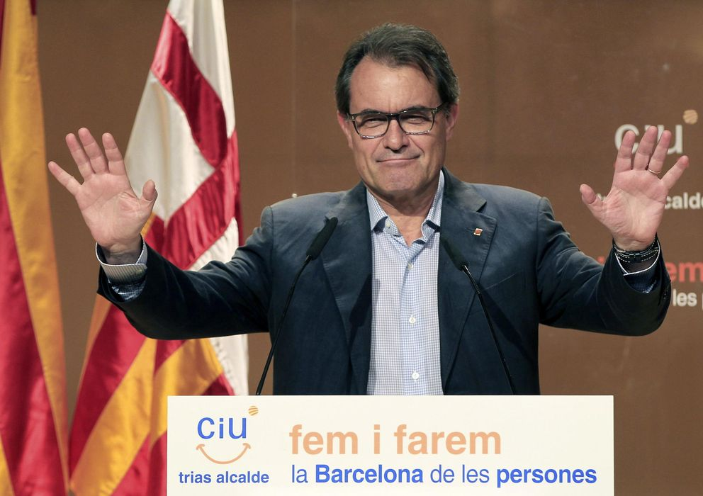 Foto: El presidente de la Generalitat de Catalunya, Artur Mas (EFE)