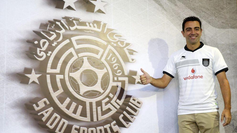 Xavi: Luis Enrique ha evolucionado el sistema y puede jugar a dos cosas