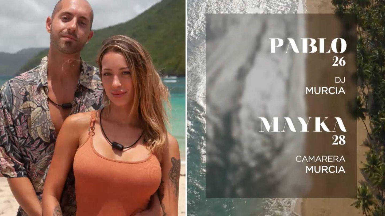 Ficha de Pablo y Mayka. (Mediaset)