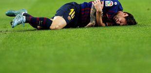 Post de Messi sufre una lesión en el brazo y se perderá el Clásico contra el Real Madrid