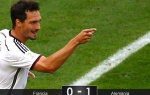 Poco fútbol y mucha eficiencia para que Alemania sea la de siempre