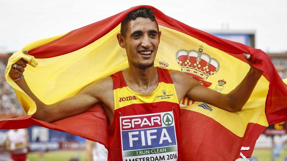 Foto: Ilias Fifa, campeón de Europa de 5000 metros. (EFE)