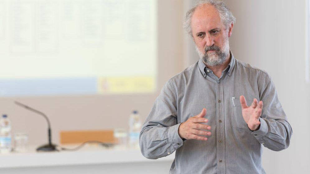 Foto: Luis Cueto, Coordinador General de la Alcaldía de Madrid, durante su etapa como Subdirector General de Fomento e Innovación Empresarial. (isel.org)