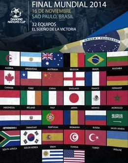 Foto: Sao Paulo acogerá en noviembre la final de la Danone Nations Cup