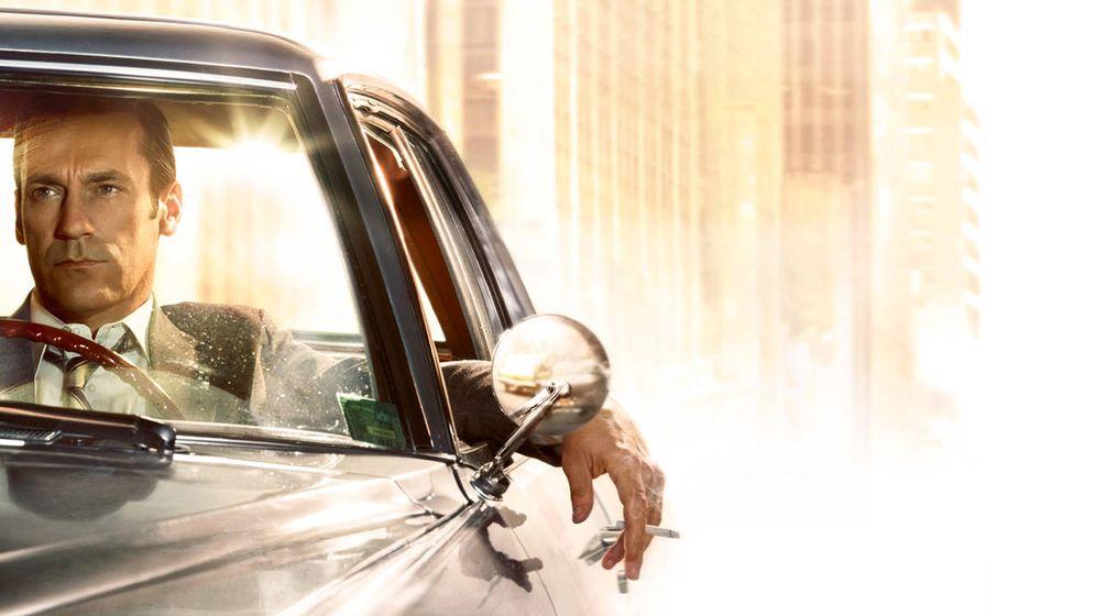 Foto: El protagonista de 'Mad Men', un macho solitario, que no cuida su salud pero sí su imagen. (AMC.com)