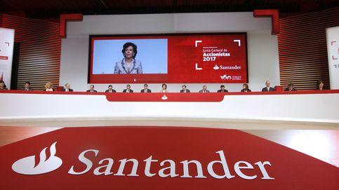 Santander respalda la recuperación de España y propone elevar el dividendo un 5%