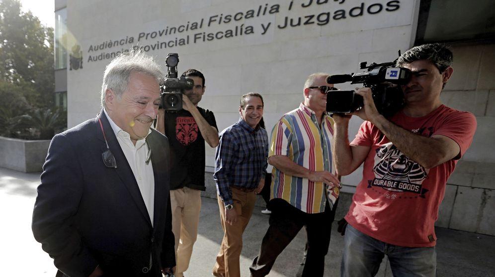 Foto: Alfonso Rus, en su última comparecencia en los juzgados. (EFE)