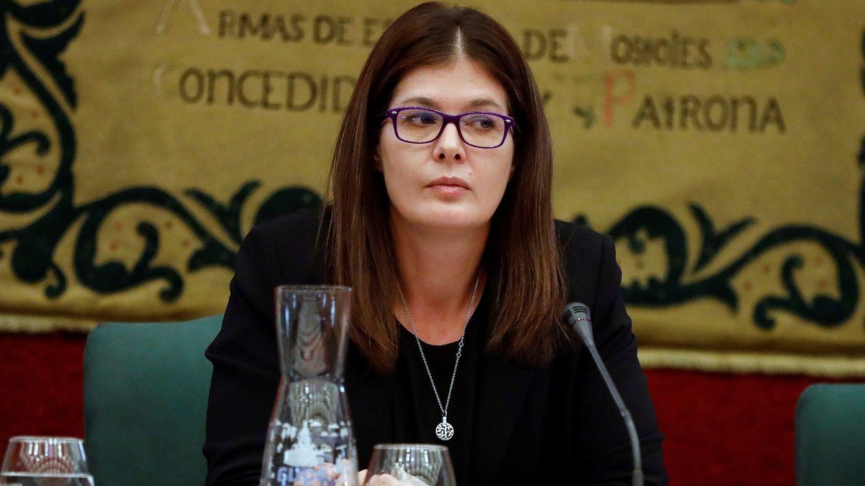 Foto: Noelia Posse, alcaldesa de Móstoles, en una imagen de octubre de 2019. (EFE)