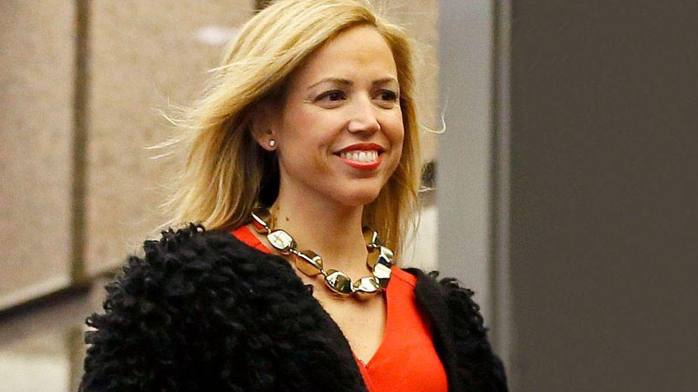 Foto: Isabel Torres, mujer de Pablo Casado. (Agencias)