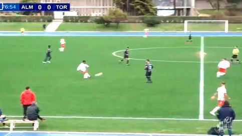 Meten un gol en Tercera División que ya quisieran Messi o Cristiano Ronaldo