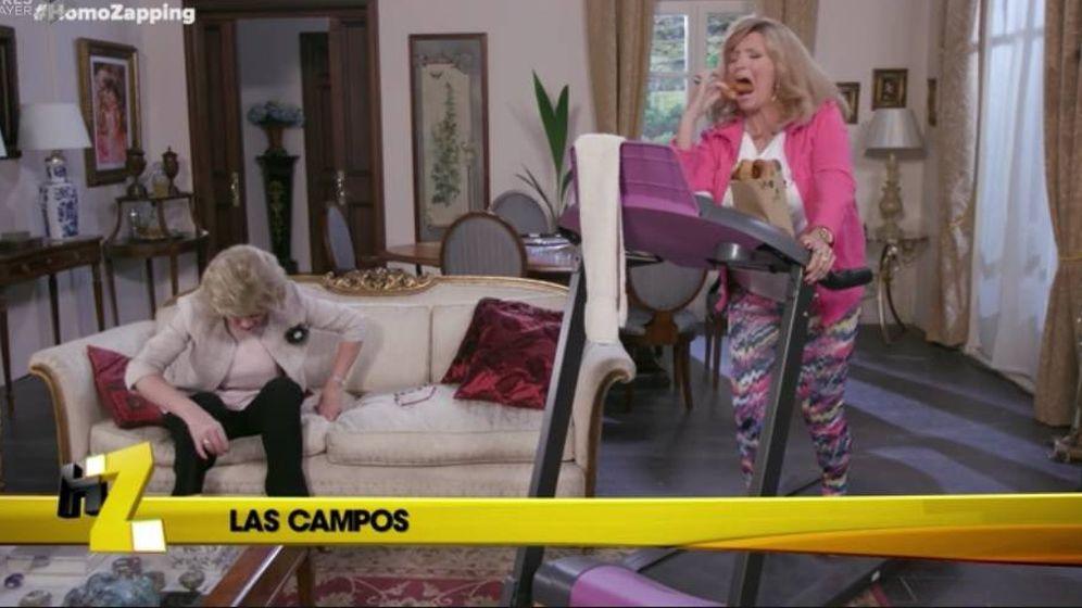 Foto: Las Camposhian en 'Homo Zapping'.