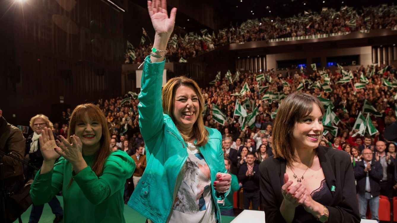 28-F: Susana Díaz avisa de que contra Andalucía no hay una España con futuro