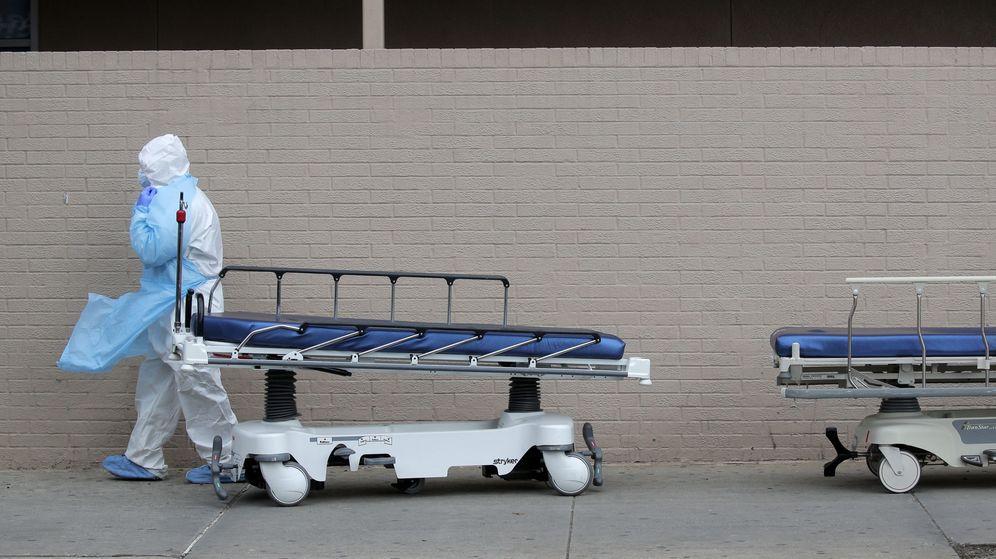 Foto: Las funerarias se han colapsado en Nueva York (EFE)