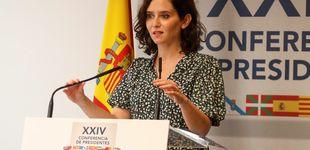Post de Ayuso reta a Puig y los barones socialistas: