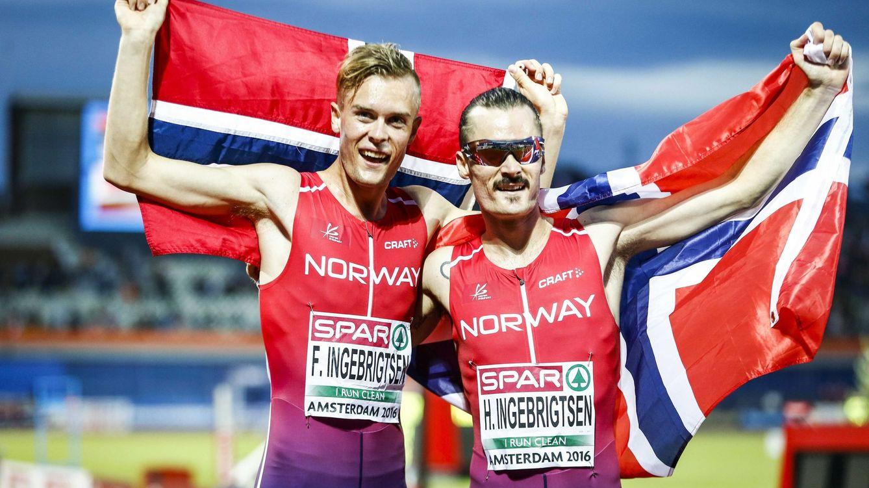 Foto: Filip y Henrik, los mayores de la saga. (Reuters)