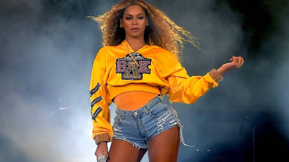 Foto: Beyoncé en el festival de Coachella de 2018 (Getty Images)