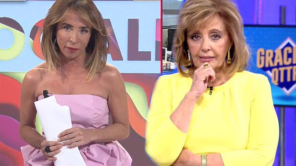La pullita de Patiño a Teresa Campos por no atender a los reporteros de 'Socialité'