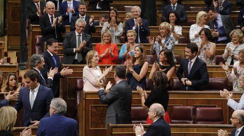 Ana Pastor, presidenta del Congreso con el apoyo de PP y C's frente a López