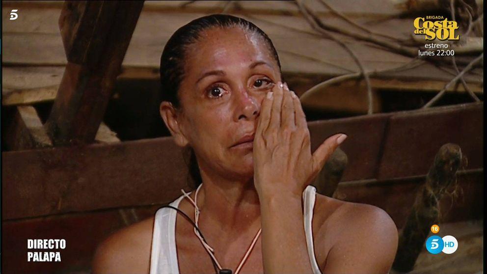 Isabel Pantoja se rompe en 'SV' al escuchar la traición de Toñi y Encarna