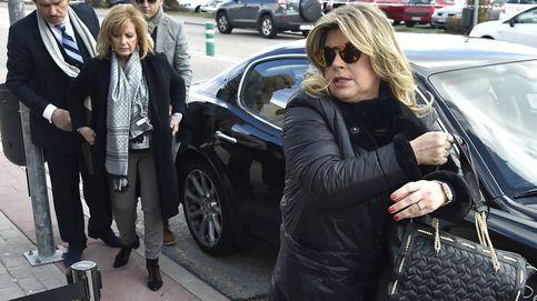Numerosos rostros conocidos acuden al tanatorio de Paloma Gómez Borrero
