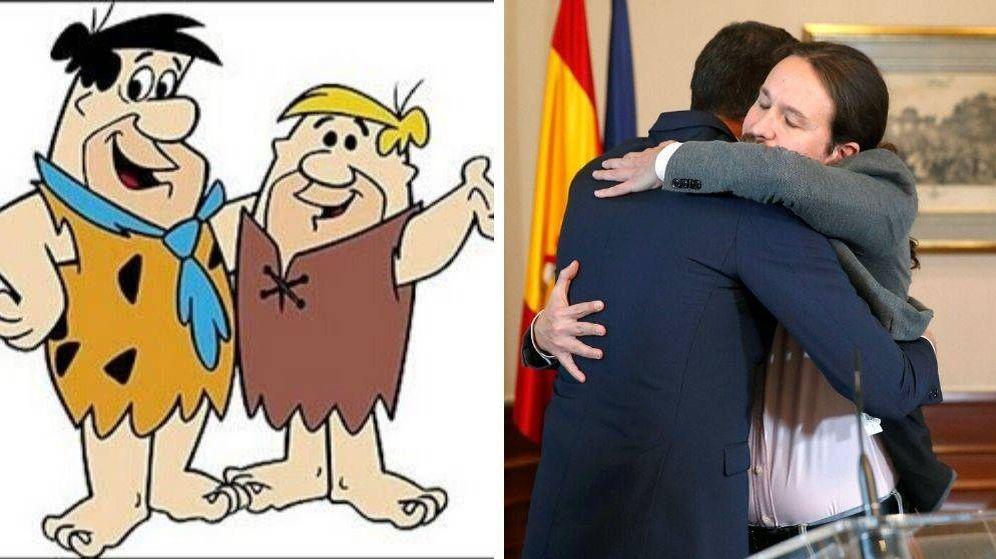 Foto: El preacuerdo entre Pablo Iglesias y Pedro Sánchez, en memes