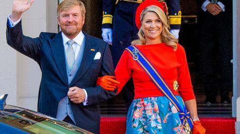 Máxima de Holanda arriesga en el Prinsjesdag con una falda de flores y boina roja