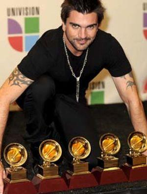 Juanes fue el rey de la ceremonia de los premios Grammy Latino