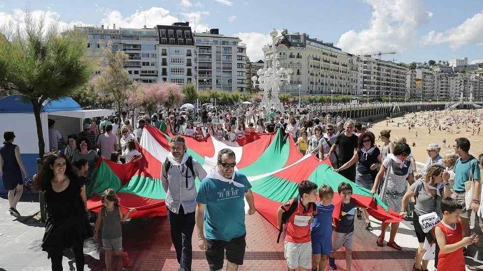 La ANC vasca busca convertir la llegada de la Vuelta a Vizcaya en una etapa soberanista
