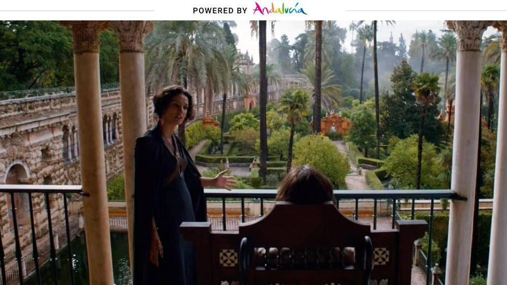 Foto: Escena de 'Juego de Tronos' en Sevilla. (Andalucía Film Commission)