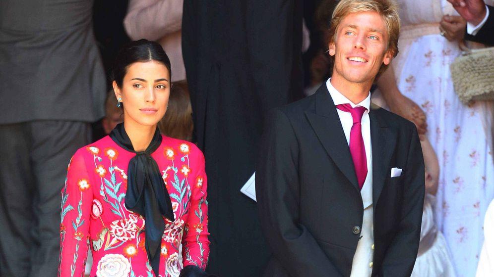Foto: Sassa de Osma y Christian de Hannover en la boda de sus cuñados. (Gtres)